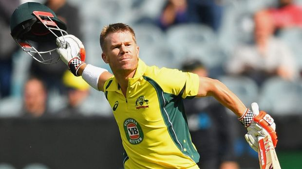 David Warner named ODI player of the year at Allan Border medal ceremony
