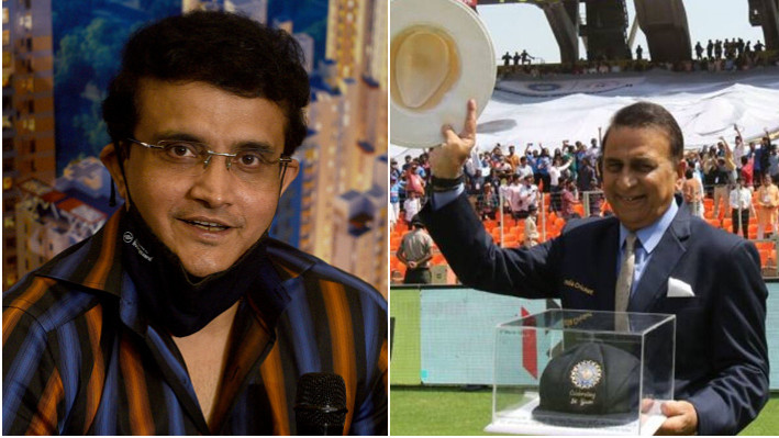 Sourav Ganguly congratulates Sunil Gavaskar on his 50th anniversary of India debut