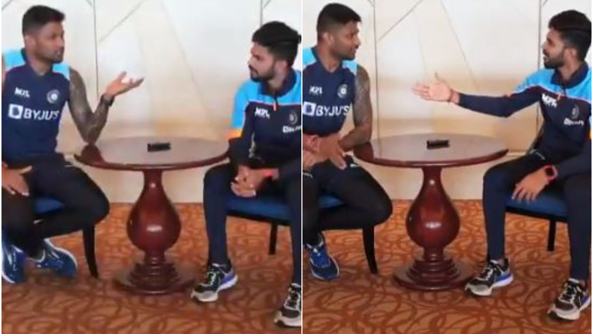 SL v IND 2021: WATCH- Gowtham and Ruturaj engage in funny 'Language Exchange' session
