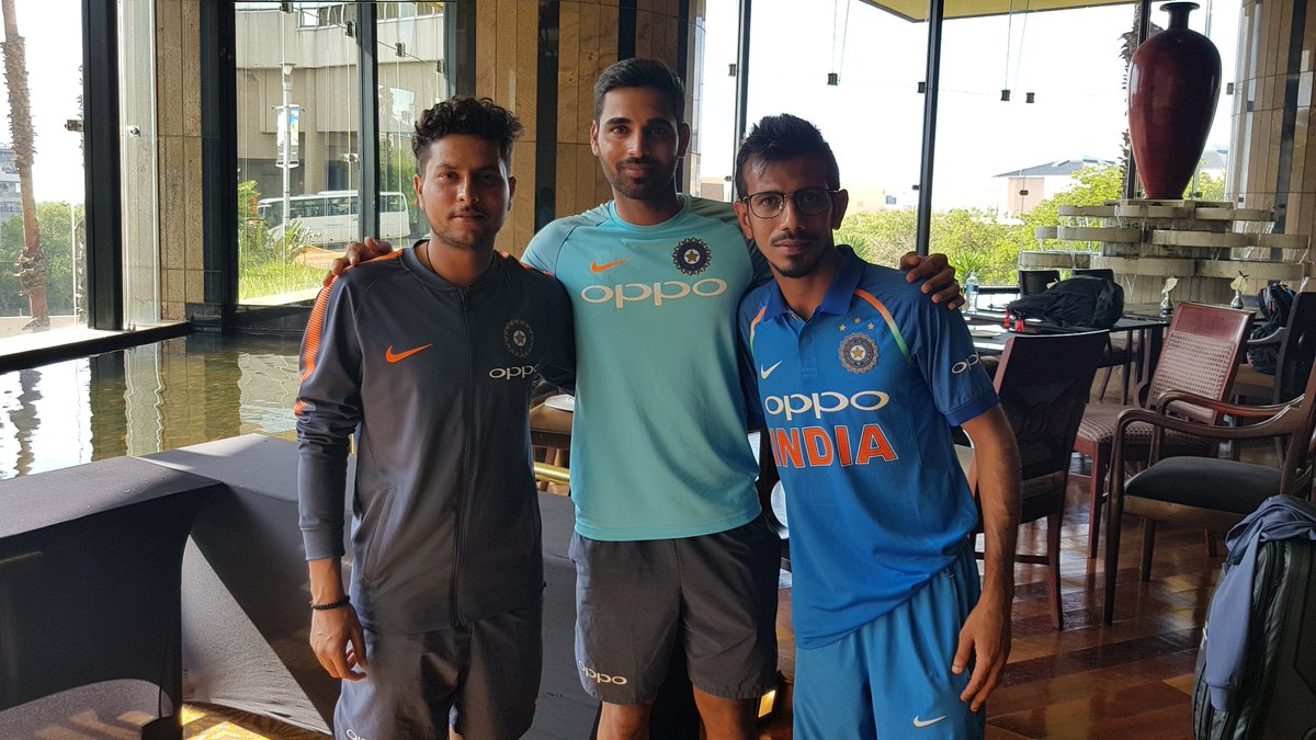 Watch – Birthday boy Bhuvneshwar Kumar in conversation with Kuldeep and Chahal