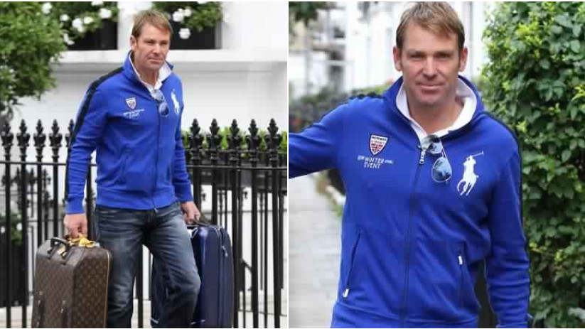 Shane Warne reveals he supports Chelsea football club as doing so saved his life once