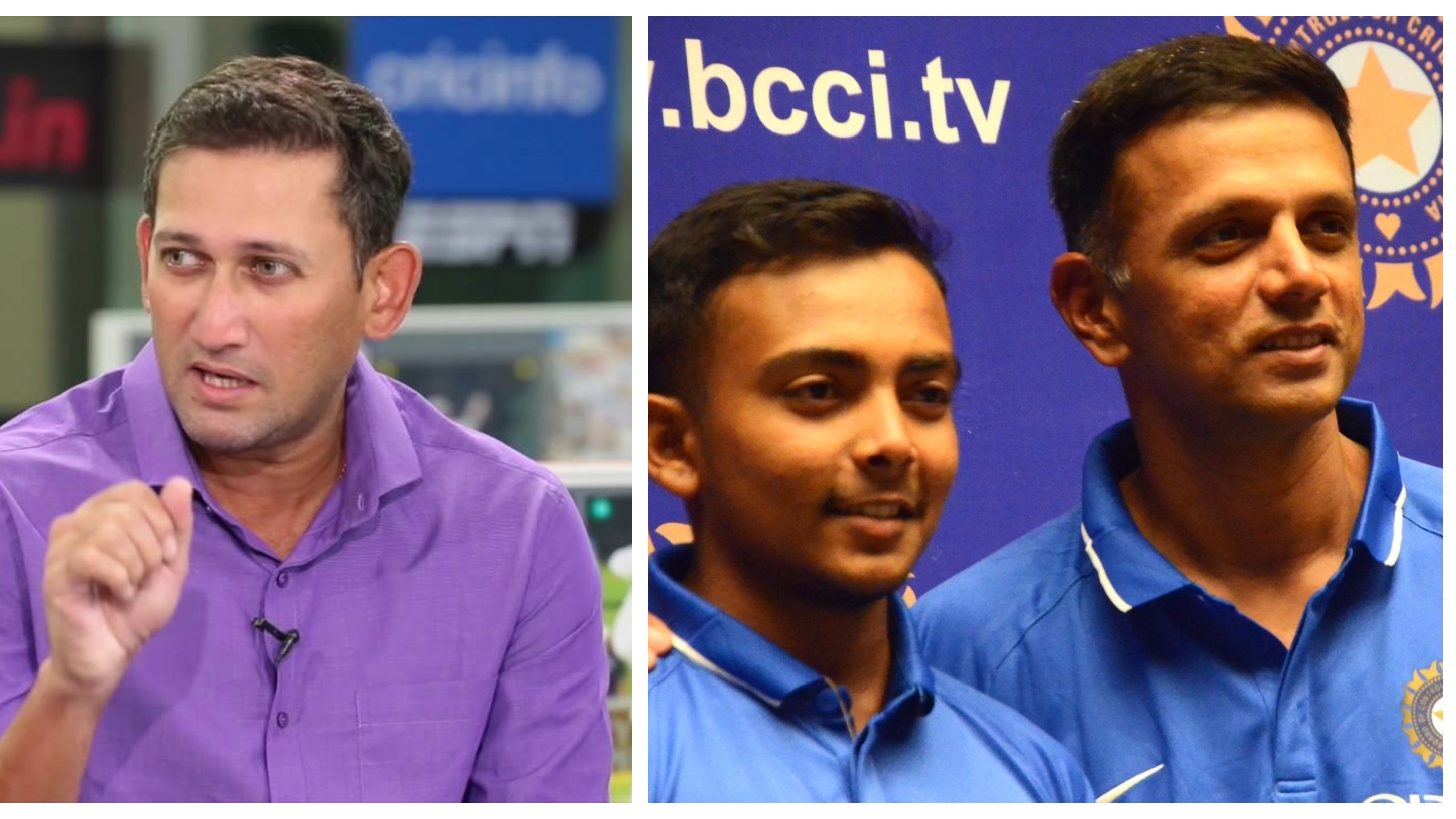 ENG v IND 2018: Ajit Agarkar terms Rahul Dravid's feedback as primary catalyst for Prithvi Shaw's Test selection