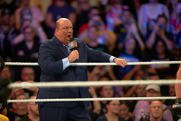 Paul Heyman | GETTY
