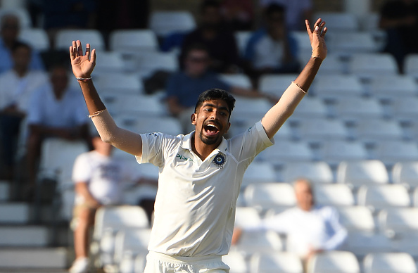 Jasprit Bumrah took first five wickets haul against England (photo - getty)