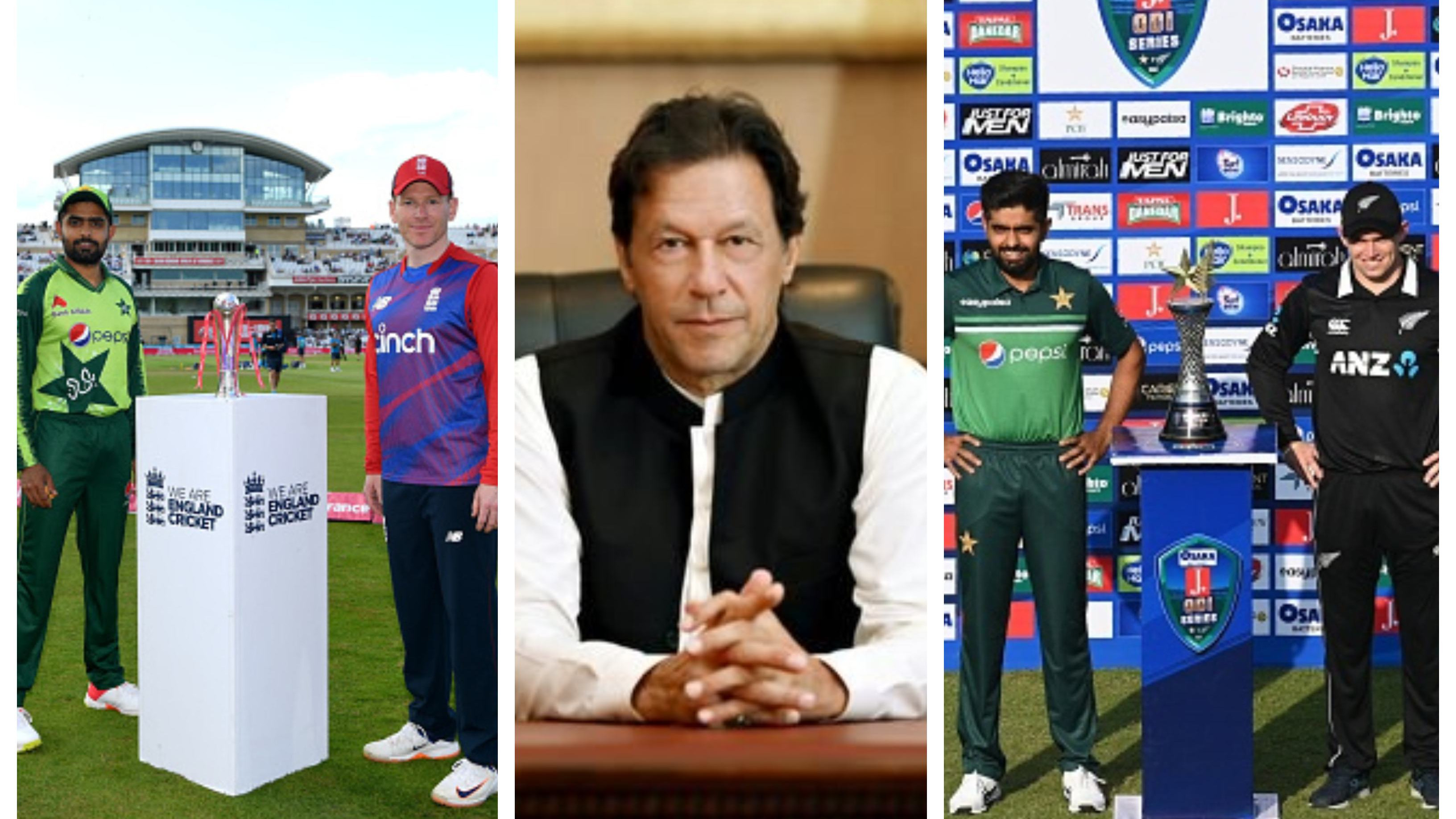 """""""No one would dare do that to India"""", Imran Khan on New Zealand, England's pull out of Pakistan tour"""