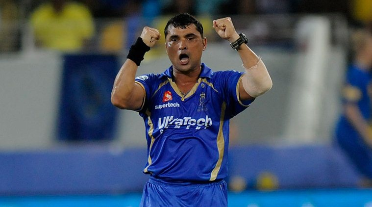 Tambe played for Rajasthan Royals between 2013 and 2015 | AFP
