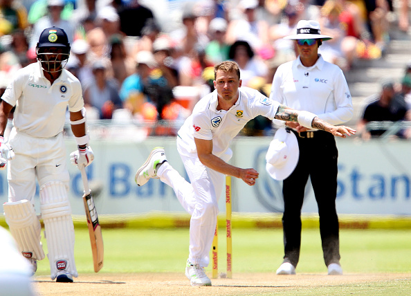 Dale Steyn bowling during South Africa's series against India | GETTY