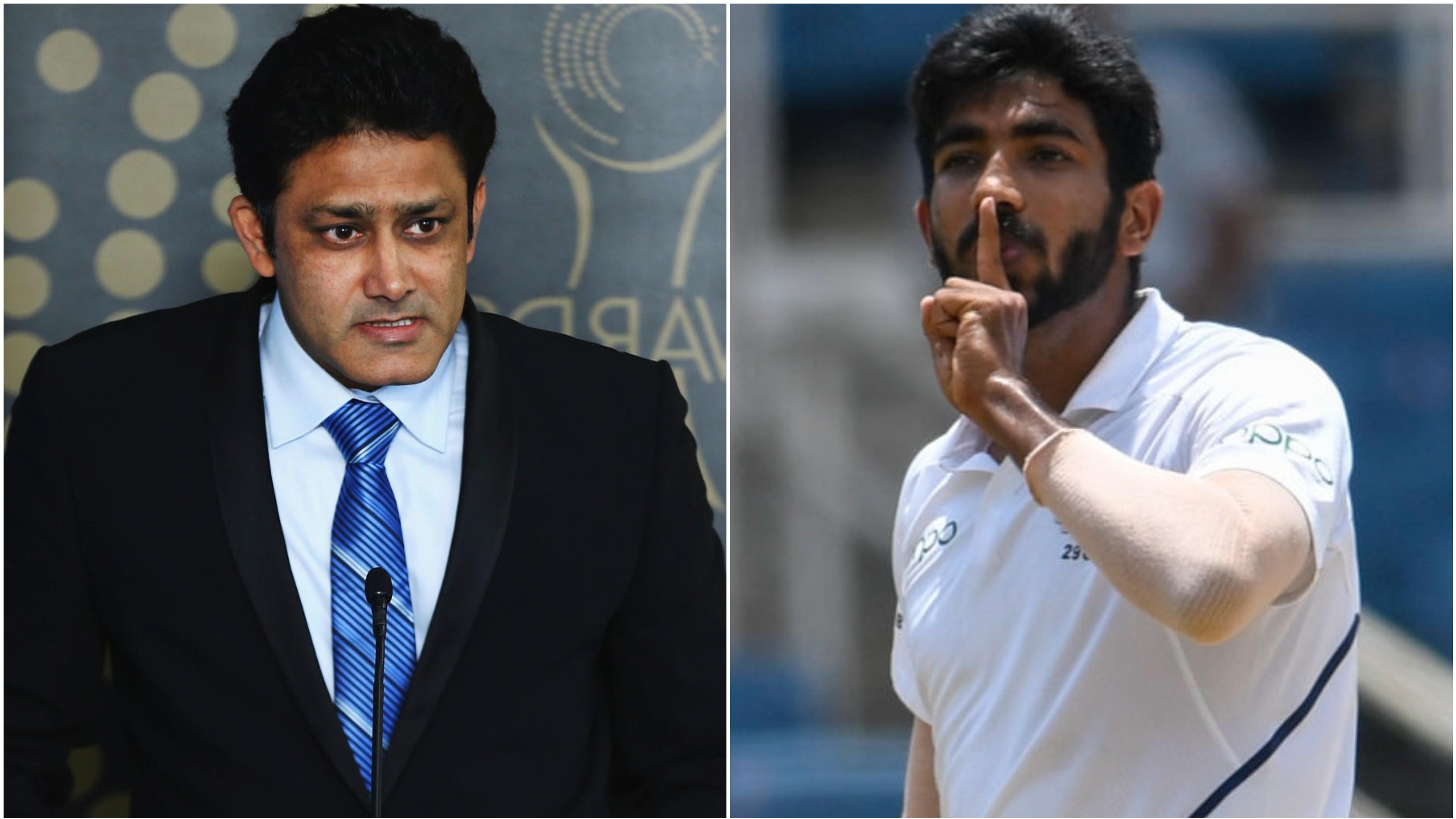 जसप्रीत बुमराह के पास भारत का सबसे महान तेज गेंदबाज बनने की क्षमता है: अनिल कुंबले