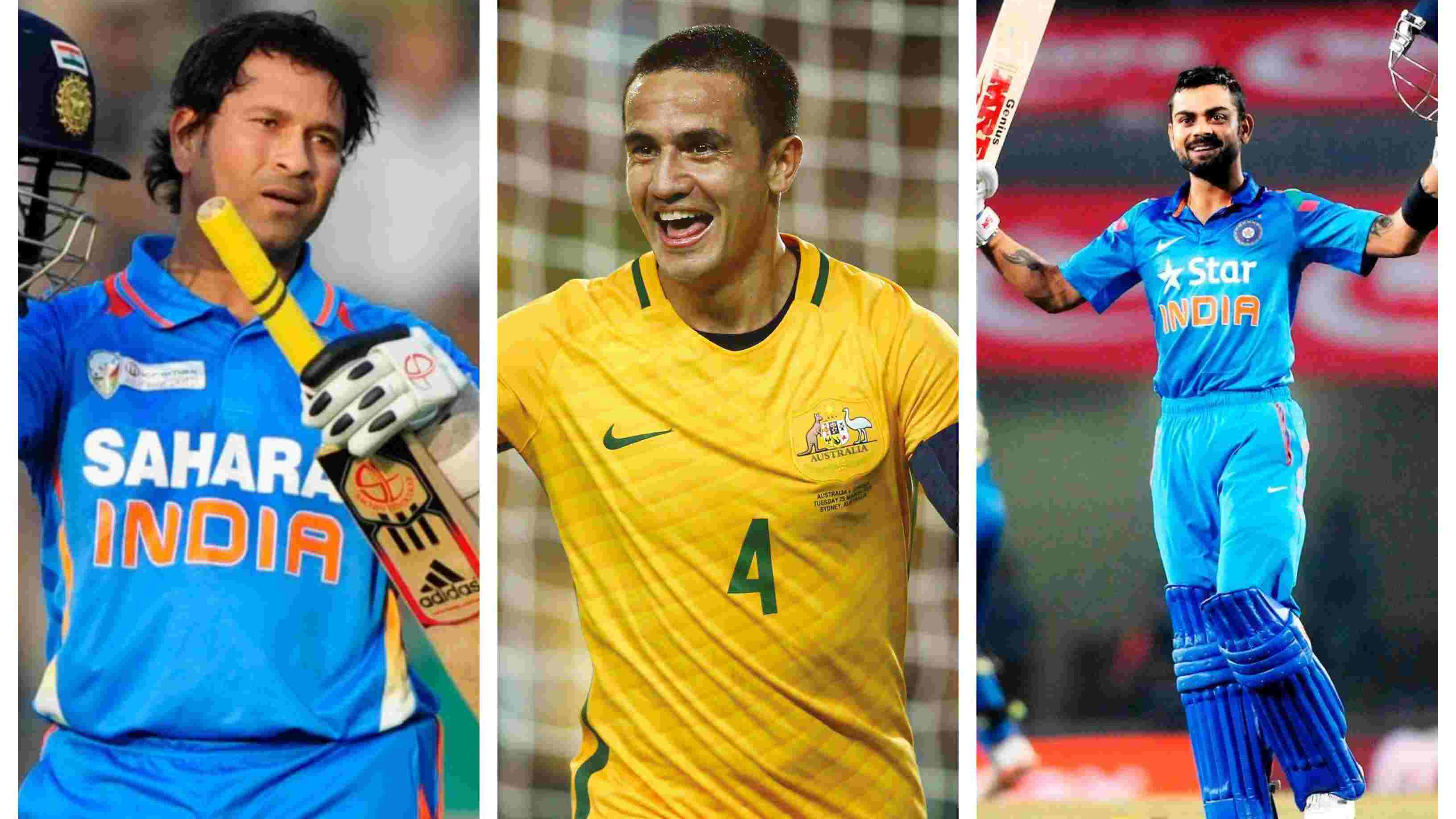 Australian football legend Tim Cahill reveals his favourite Indian cricketer