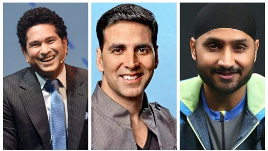 Sachin Tendulkar and Harbhajan Singh wish Akshay Kumar as he turns 51