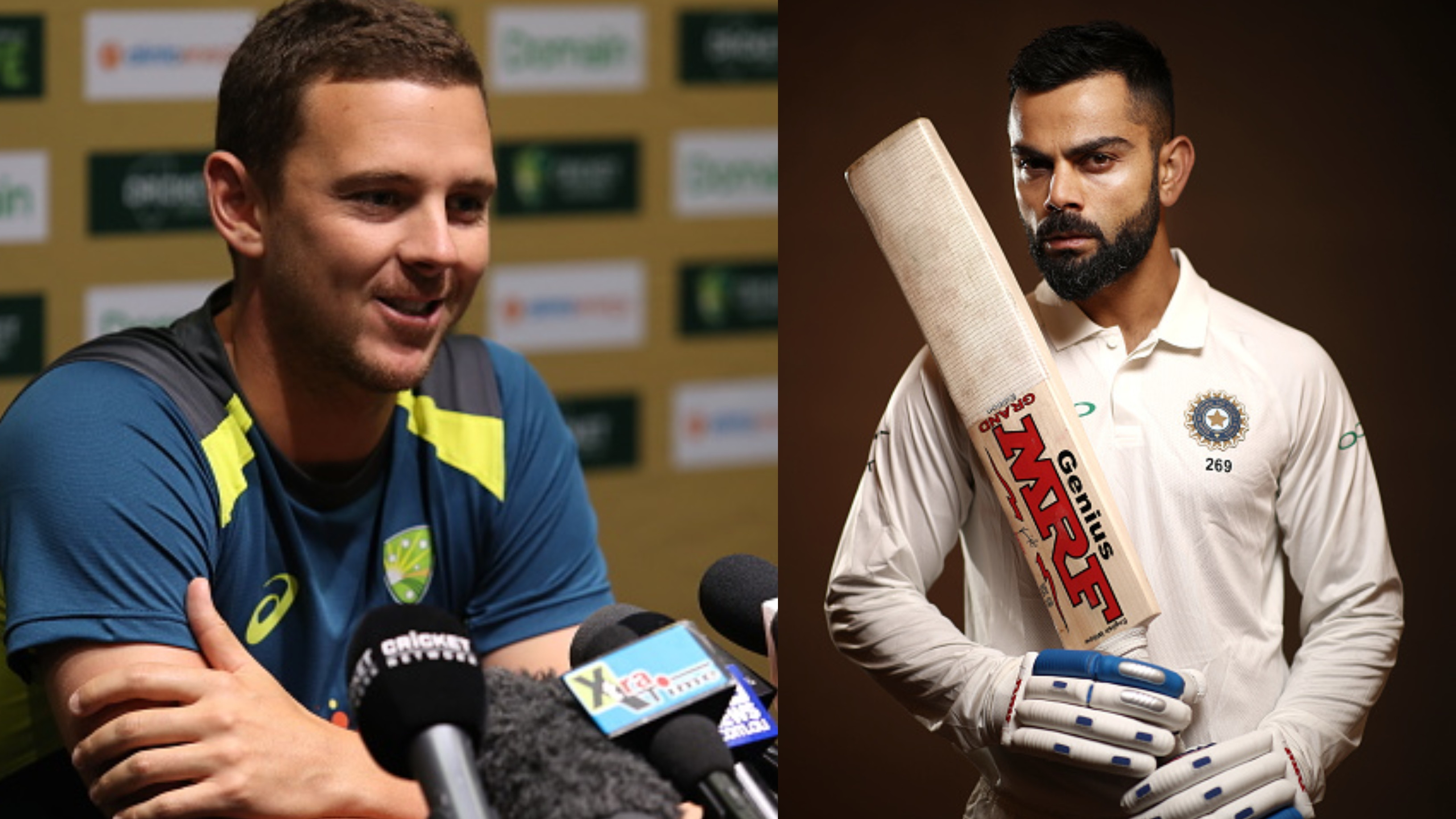 AUS v IND 2018-19: Getting Virat Kohli out early will be key to control the best batting line-up in the world, says Josh Hazlewood