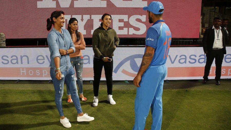 Harmanpreet Kaur reveals the conversation she had with Virat Kohli in this epic picture