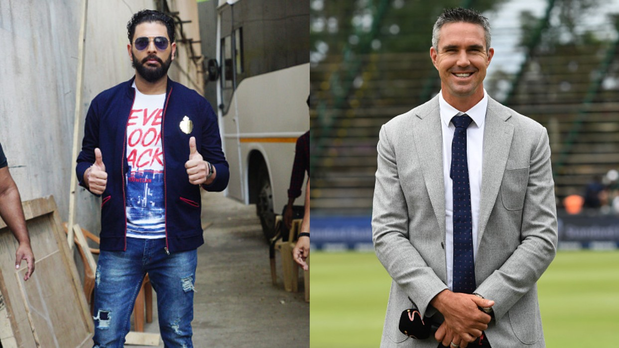 Yuvraj Singh uses 'pie-chucker' reference in a dig at Kevin Pietersen on his Instagram post