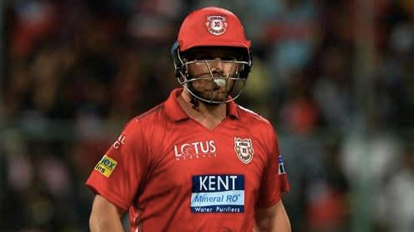 IPL 2018: Aaron Finch not worried about his poor form, happy with KXIP's success this season