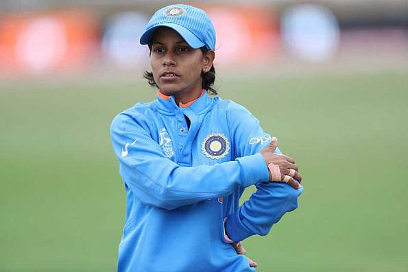 Poonam Yadav picked three crucial wickets for India Blue | Getty