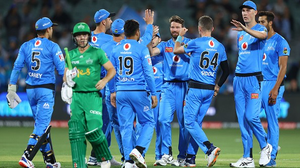 BBL 09: Adelaide Strikers beat table-toppers Melbourne Stars in a close contest
