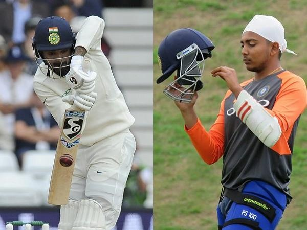KL Rahul and Prithvi Shaw are going to be the likely openers | Getty