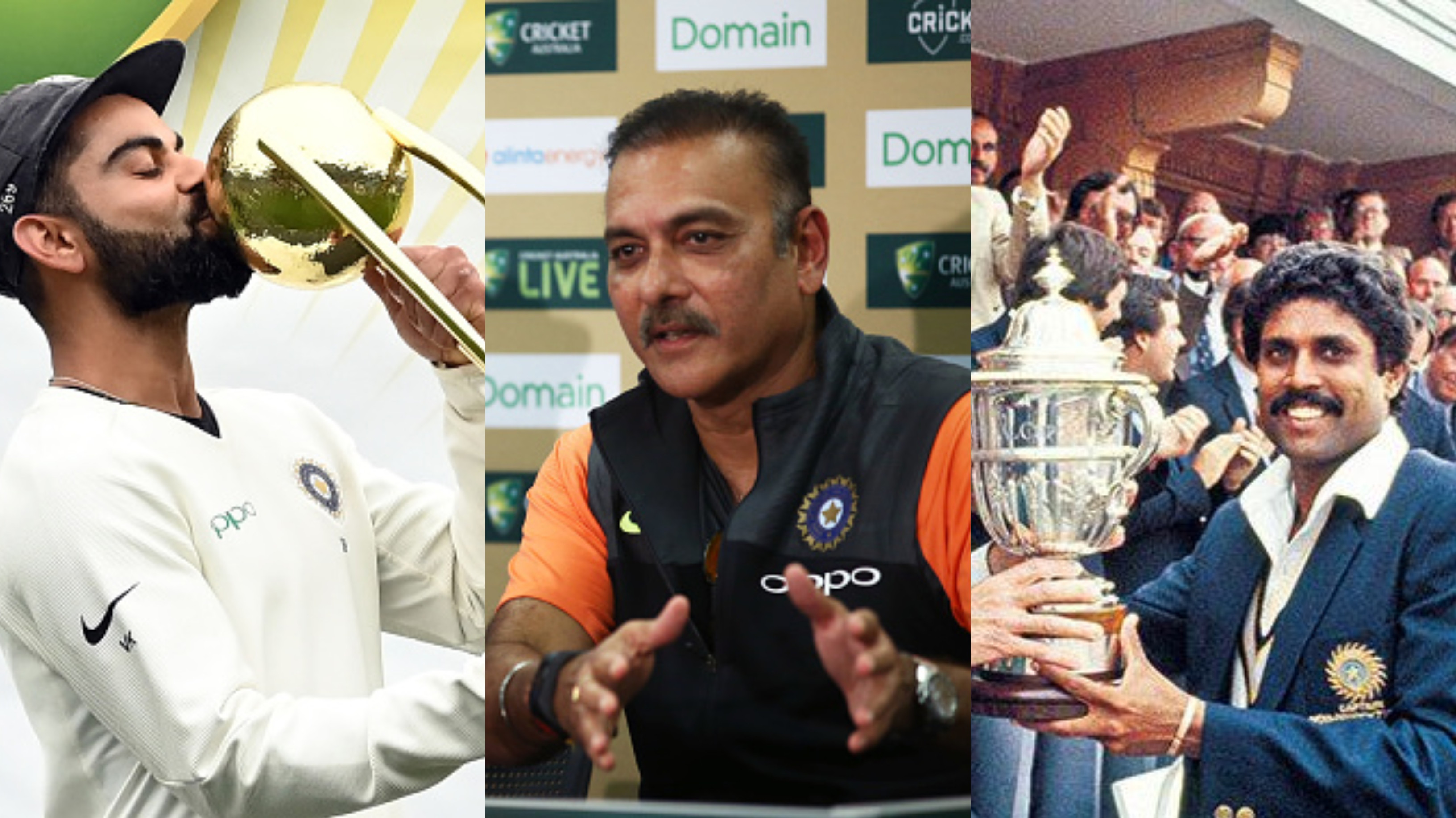 Ravi Shastri reveals reason behind rating India's Australia Test series win above World Cup 1983 triumph