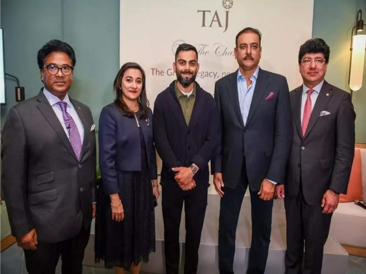 Ravi Shastri and Virat Kohli at a book launch | Twitter