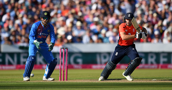 Jos Buttler looked in great touch against India in the first T20I | Getty