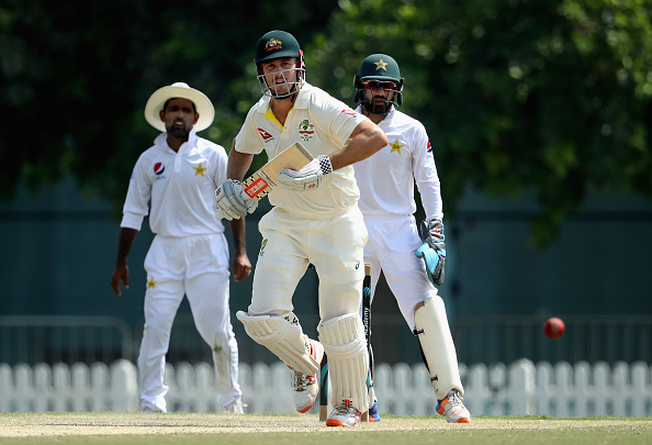 Mitchell Marsh scored 162 against Pakistan A in Dubai | Getty