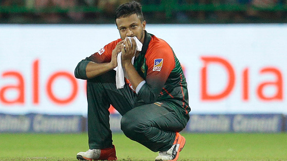 Shakib Al Hasan ruled out for three months as finger injury worsens