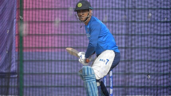 IPL 2020: CSK captain MS Dhoni has a batting session at indoor facility in JSCA stadium