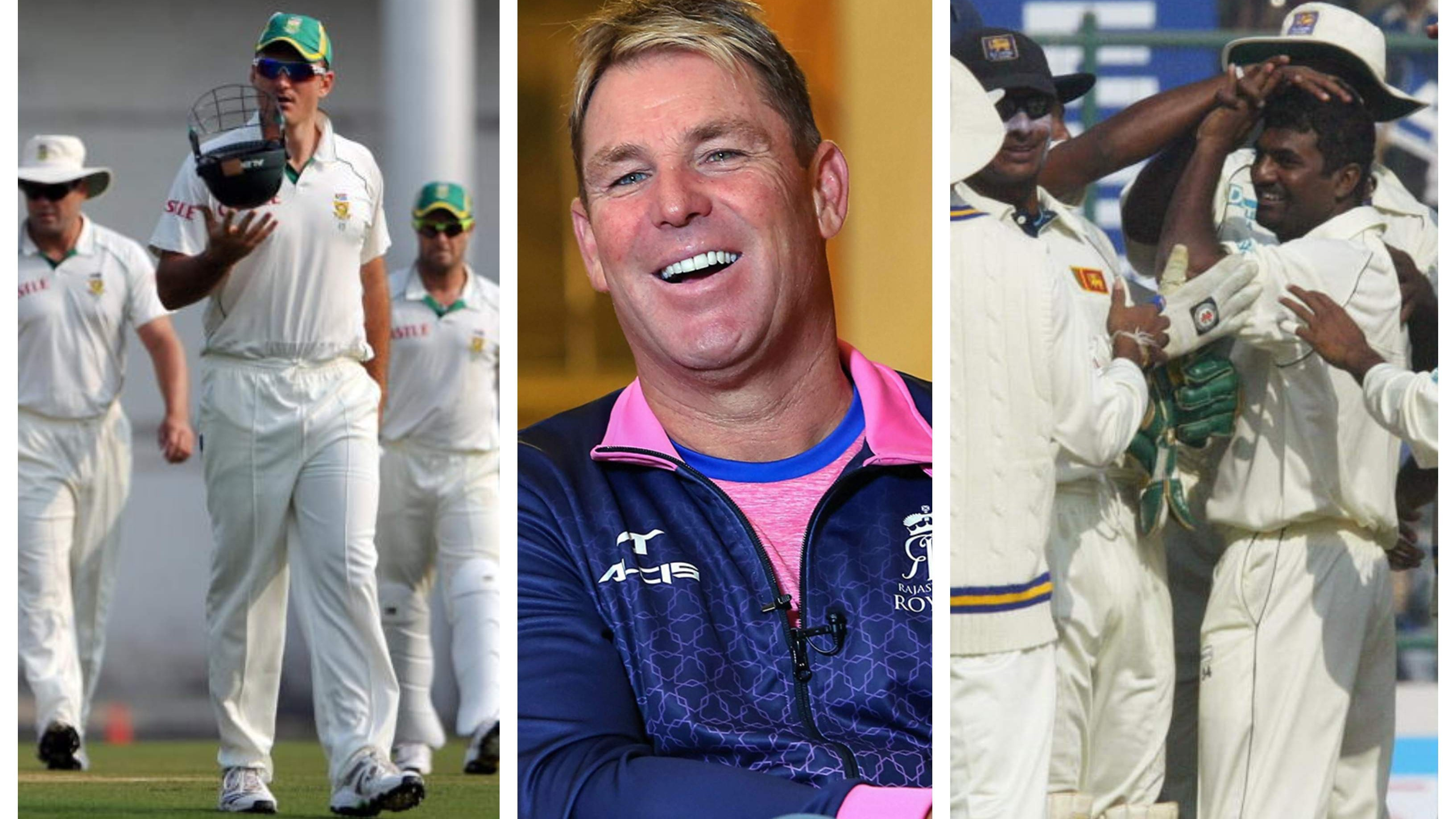 Shane Warne picks his all-time Sri Lanka and South Africa Test XIs