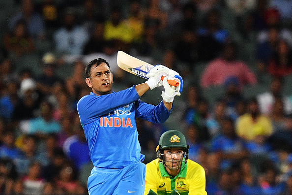 MS Dhoni garnished the win with a six in last over  | Getty