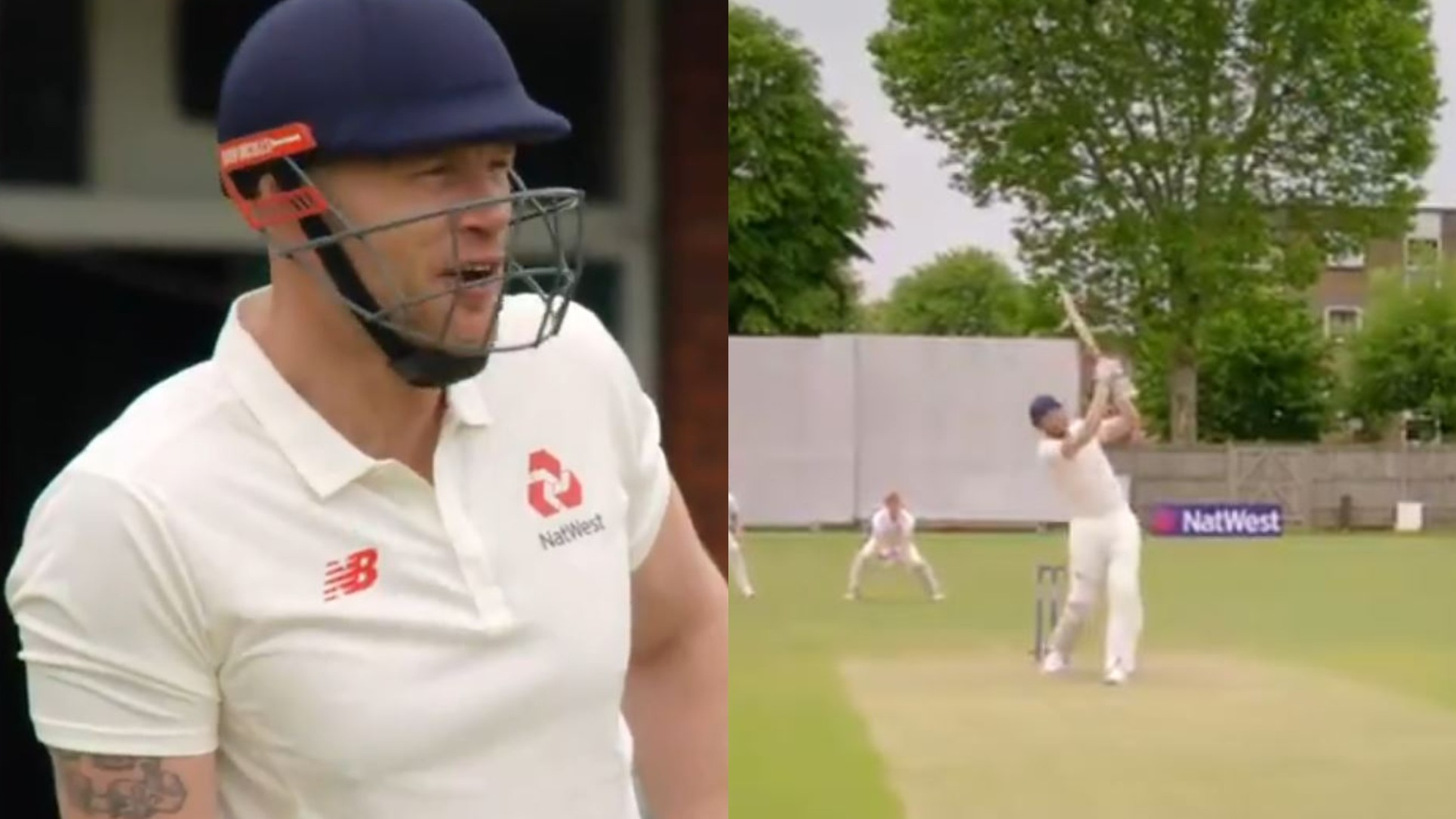 WATCH- Andrew Flintoff takes on the Ashes 2005 version of himself in 2019