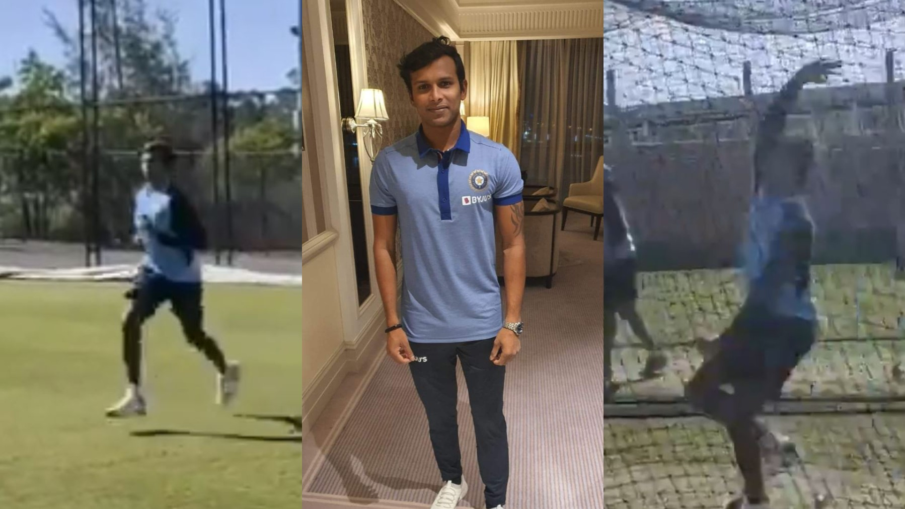 AUS v IND 2020-21: WATCH- T Natarajan bowls in the Team India nets for the first time