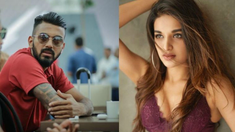 KL Rahul shares Lord's picture with a fiery caption and Nidhhi Agerwal loved it