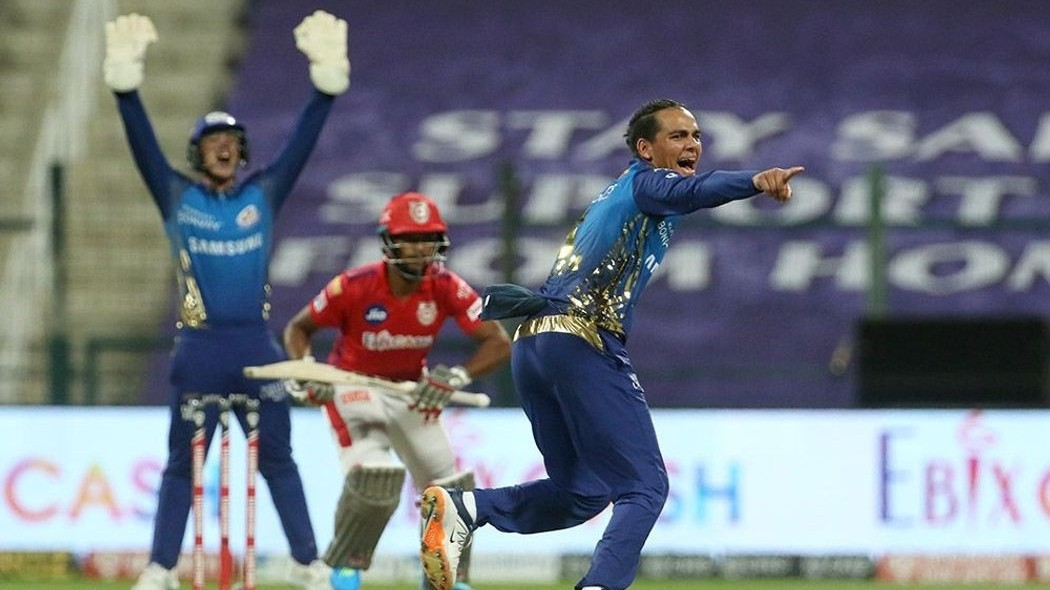 IPL 2020: Rahul Chahar says he got confidence from the pitch to perform against KXIP