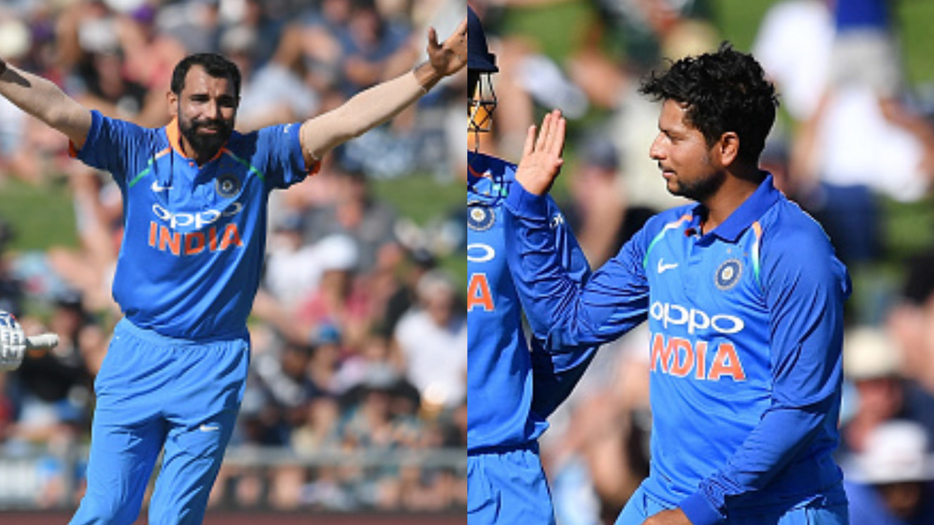 NZ v IND 2019: Cricket Fraternity hails Shami and Kuldeep as they rout routs Kiwis for 157