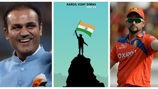 Indian Cricket Fraternity salutes Indian armed forces on Kargil Vijay Diwas