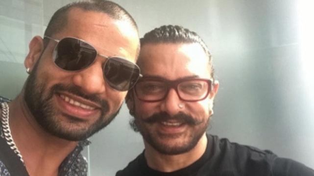 शिखर धवन के देरी से जन्मदिन की बधाई देने पे अमीर खान ने दिया दिल छू लेने वाला जवाब