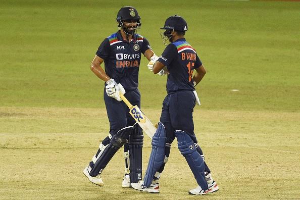 Deepak Chahar and Bhuvneshwar Kumar shared an unbeaten 84-run stand | Getty