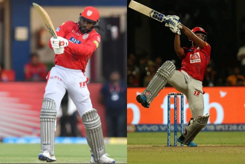 Chris Gayle and Nicholas Pooran will provide the big-hitting fireworks for PBKS | Twitter