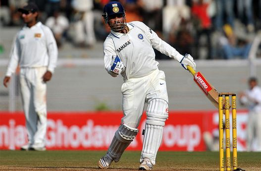 Virender Sehwag is one of four players to score two Test triple hundreds - 309 vs PAK and 319 vs SL