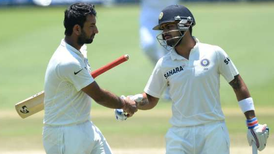 Virat Kohli's passion for the game keeps the positivity going in the dressing room, according to Cheteshwar Pujara