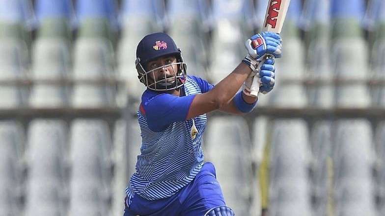 Vijay Hazare Trophy 2021: Prithvi Shaw becomes first batsman to achieve 800 plus runs in single edition