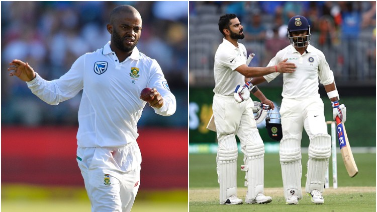 IND v SA 2019: Virat Kohli and Ajinkya Rahane fulfill Temba Bavuma's three-year-old wish