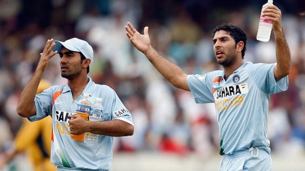 WATCH: Yuvraj Singh reveals Ganguly's actual words while scolding a 19-year-old Dinesh Karthik