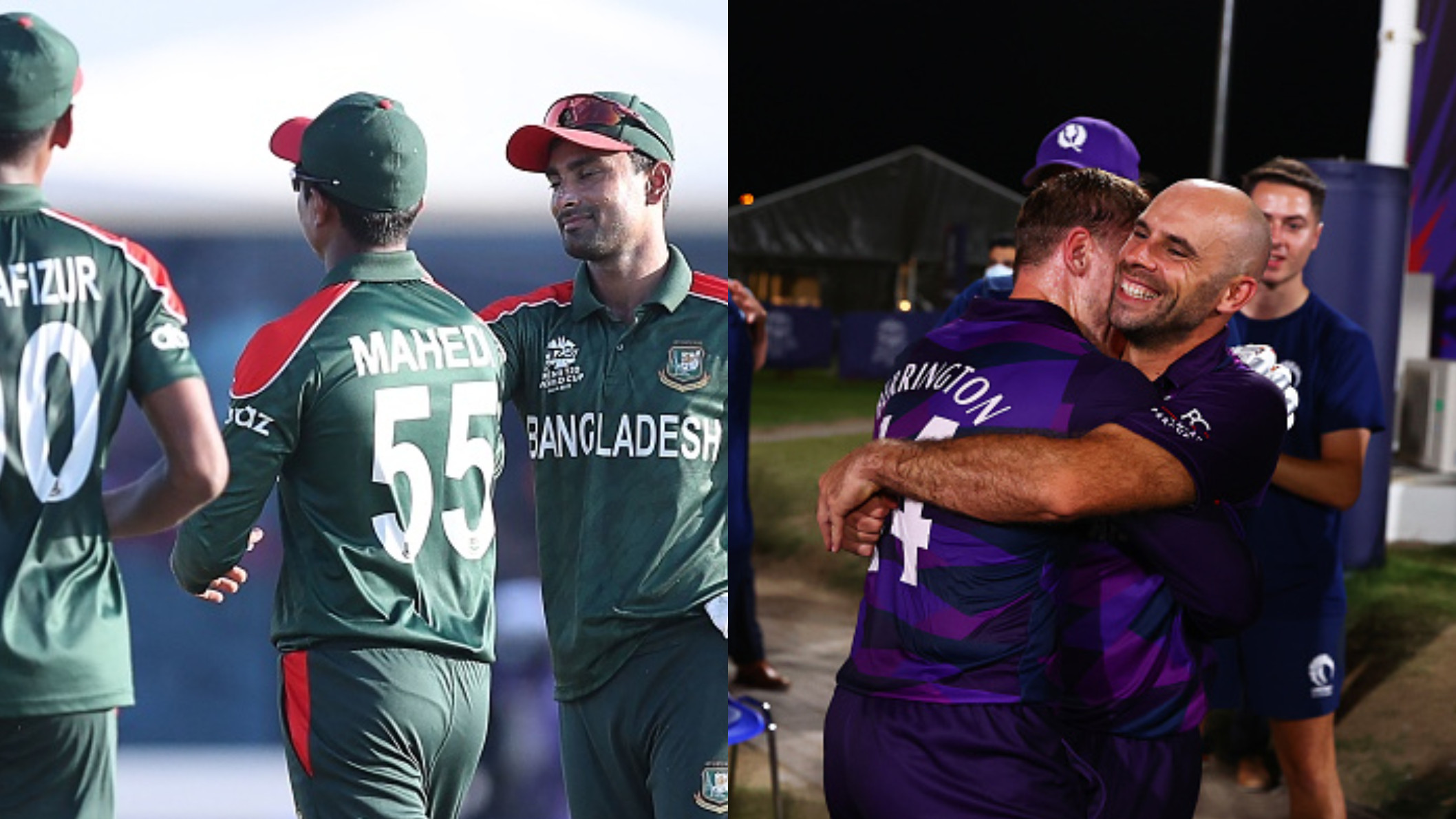T20 World Cup 2021: Bangladesh and Scotland qualify for Super 12s after thrashing PNG and Oman