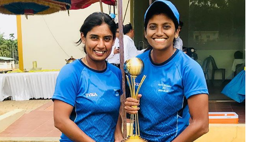 India Blue wins Women's T20 Challenger Trophy by beating India Red in the finals