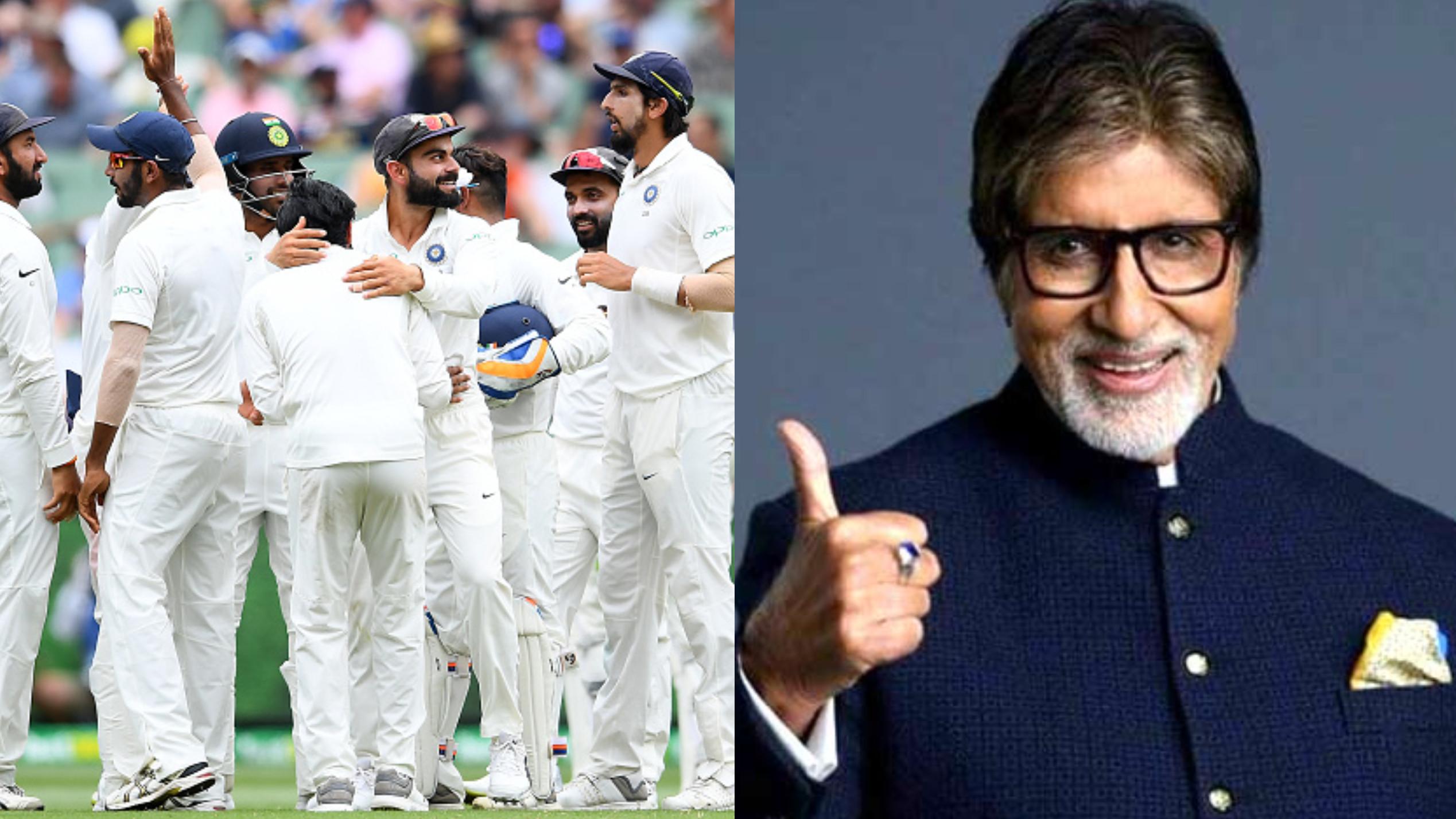 AUS v IND 2018-19: अमिताभ बच्चन ने अपने ही अंदाज़ में भेजा टीम इंडिया को बधाई संदेश
