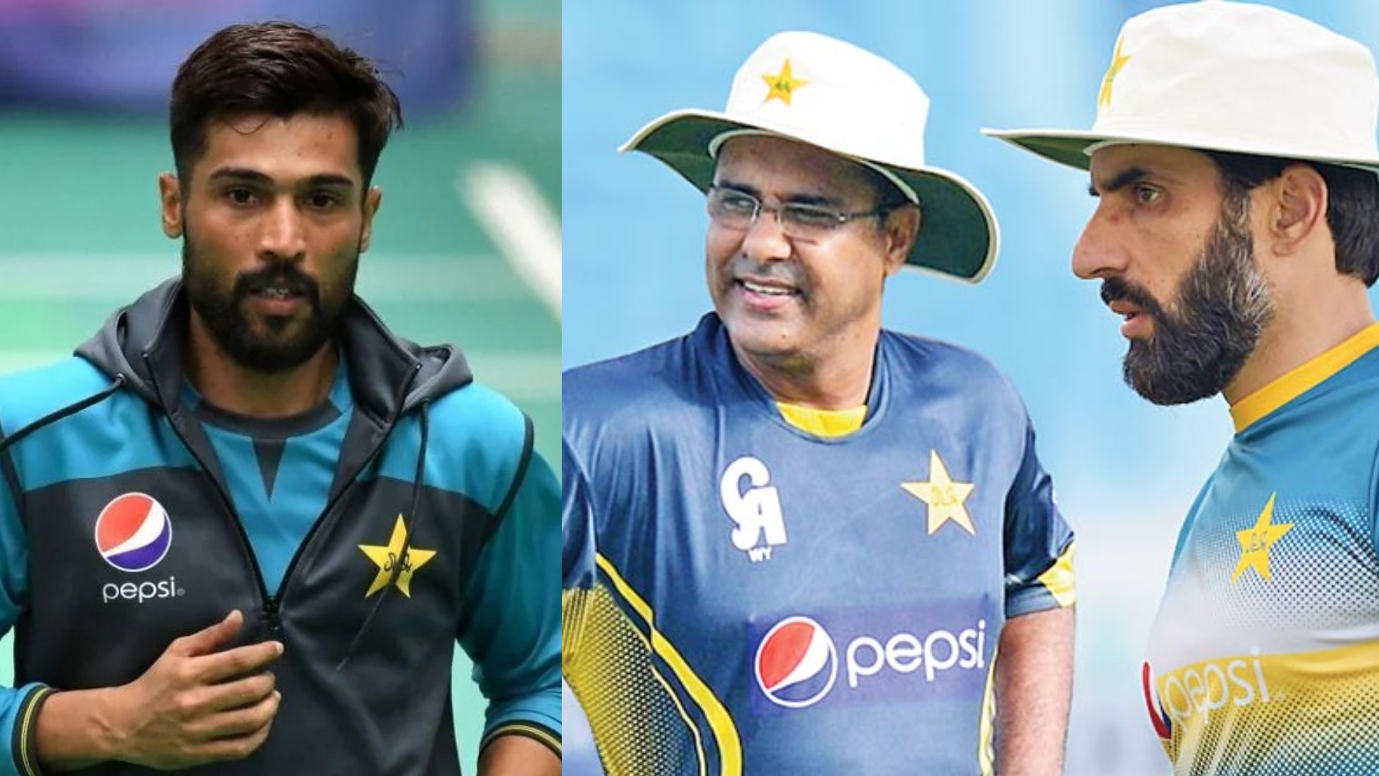 WATCH- Mohammad Amir accuses Misbah Ul Haq and Waqar Younis of spoiling his image with Pakistani fans