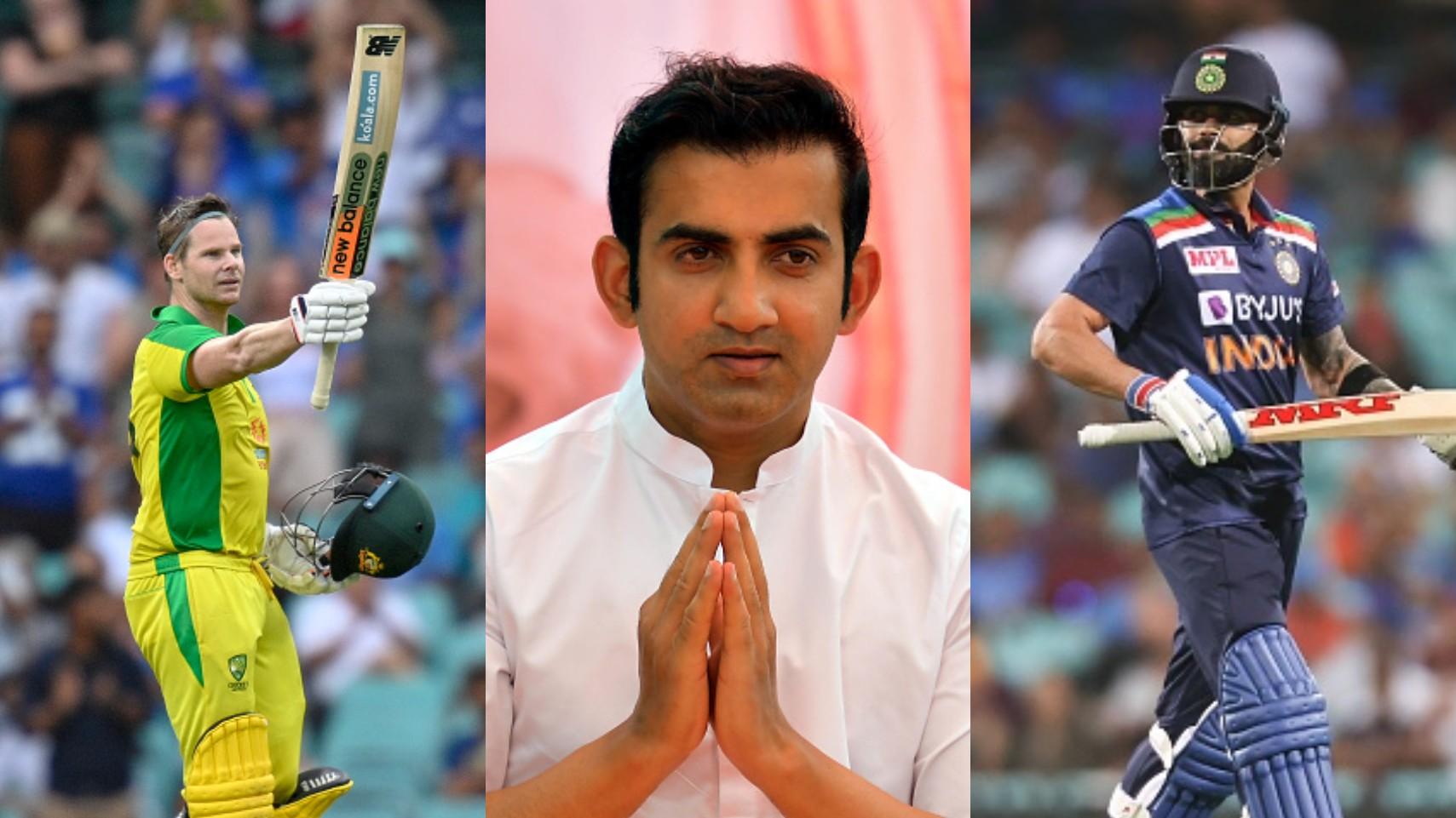 "AUS v IND 2020-21: ""Steve Smith not far away from Virat Kohli,"" Gambhir warns Indians of his ominous form"