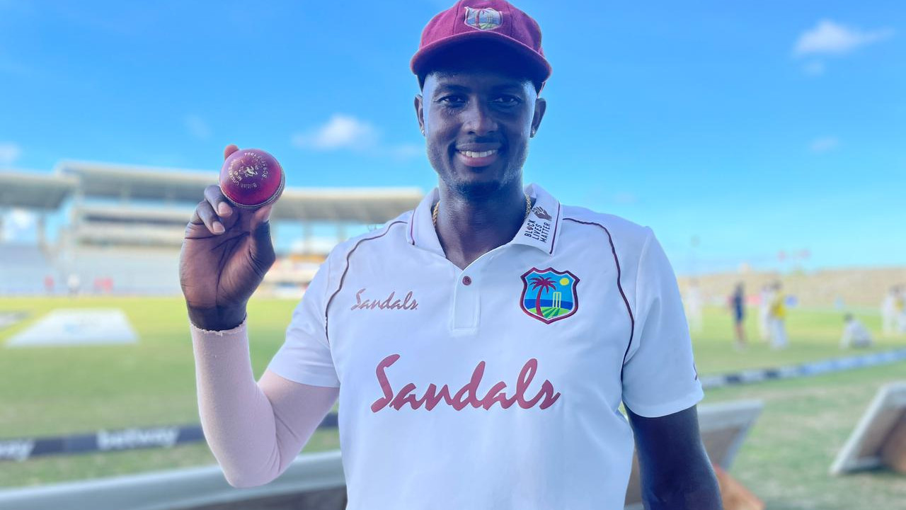 """WI v SL 2021: """"It's a pleasing feeling"""", Jason Holder delighted after his 8th five-wicket haul in Test cricket"""