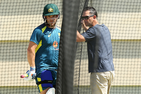 Aaron Finch and Ricky Ponting | Getty